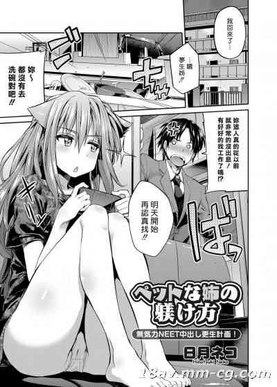 [Sona56個人漢化] [日月ネコ]ペットな姉の躾け方( コミックグレープ Vol.24 [DL版] )