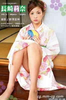 mistyIdol Gravure No.185 Rina Nagasaki 長崎莉奈