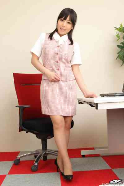 4K-STAR No.00044 Maria Akamine 赤峰マリア Office Lady