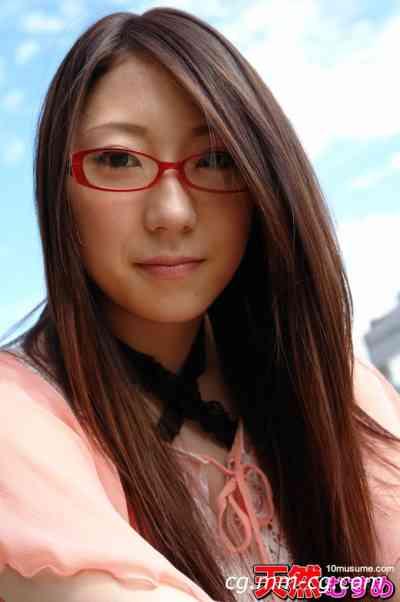 10musume 2011.12.16 天然素人 喜歡這種眼鏡的素人 鳴瀬愛梨