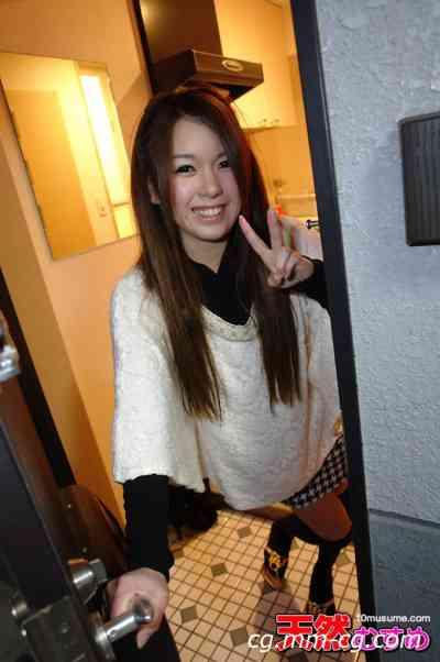 10musume 2012.05.02 ひとり暮らしの女の子のお部屋拝見  でかいクリより恥ずかしいスッピン公開  半澤仁美