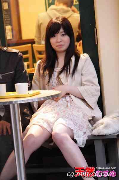 10musume 2012.08.28 指令!手淫在露天咖啡廳 美月あやか