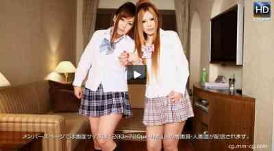 1000giri 2012-06-22 Nana & Nao 姉妹レズ+3P+中出し-ナナ &ナオ