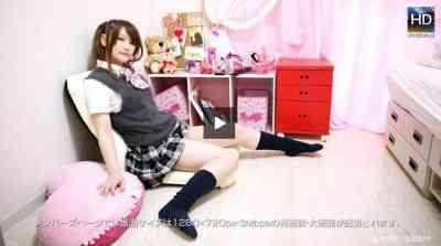 1000giri 2012-08-27 Yuko めっちゃシタイ!!改#021~Mっ娘!思わずいじめたくなる女子校生 ユウコ