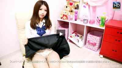 1000giri 2012-12-03 Kana めっちゃシタイ!!改#032~かわいいお部屋で女子校生に中出し~カナ