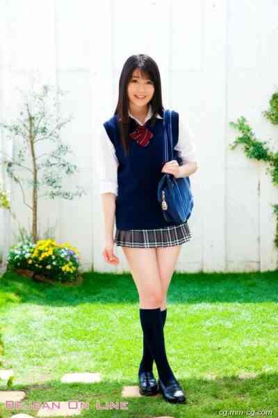 Bejean On Line 2012.07 私立Bejean女學館 - 冨手麻妙 Ami Tomite