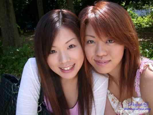 G-AREA No.107 - ishikawa  いしかわ めの(姉) 21歳 B80 W64 H88   いしかわ こはく(妹) 19歳 B88 W60 H89