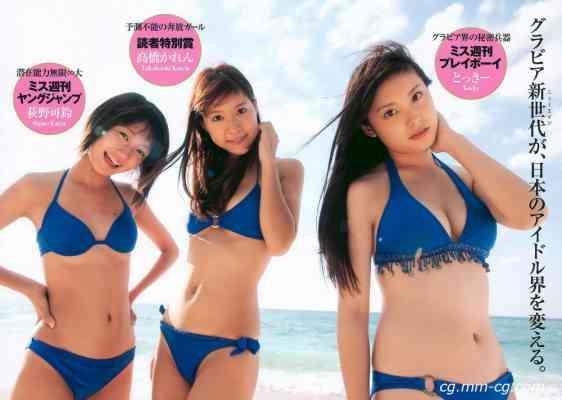 Weekly Playboy 2010 No.46 グラビアJAPAN 宮崎麗香 谷桃子 甲斐まり恵 伊達あい 他