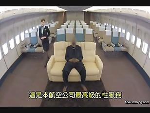SDDE-408-[中文]用「制服。內衣褲。全裸」款待 跨越小穴航空 5 巨屌黑人篇