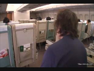 NHDTA-682-[中文]空姐航班變態 豪華版 中出特別篇
