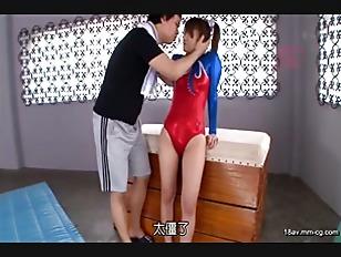WANZ-266-[中文]國中時期被選為特別強化選手的體操美少女奇蹟出道拍AV!! 須籐愛久