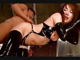 MXGS-759-[中文]變態受虐狂 緊身皮衣女 強制口交調教 小西悠