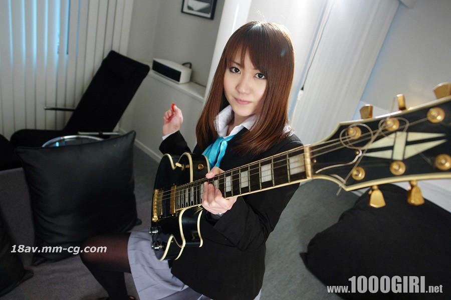 [無碼]1000人斬 110204yui 剛加入輕音樂部的吉他美少女