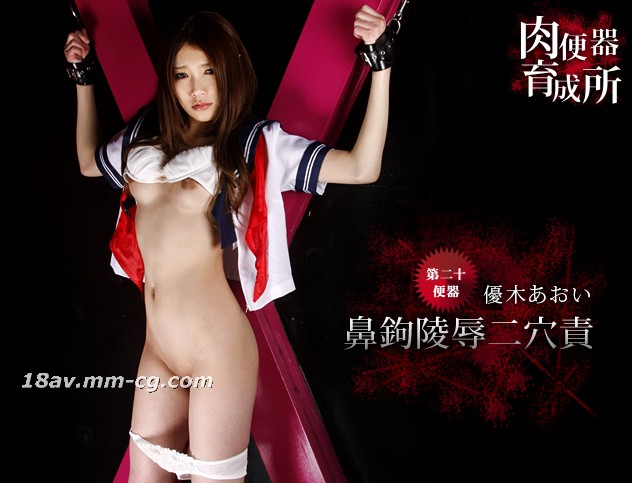 """The latest one, Aoi, """"The toilet bowl breeding uniform, the woman's nose hook, the shame, and the second hole."""""""