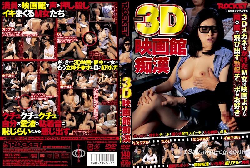 (ROCKET) 3D cinema idiot