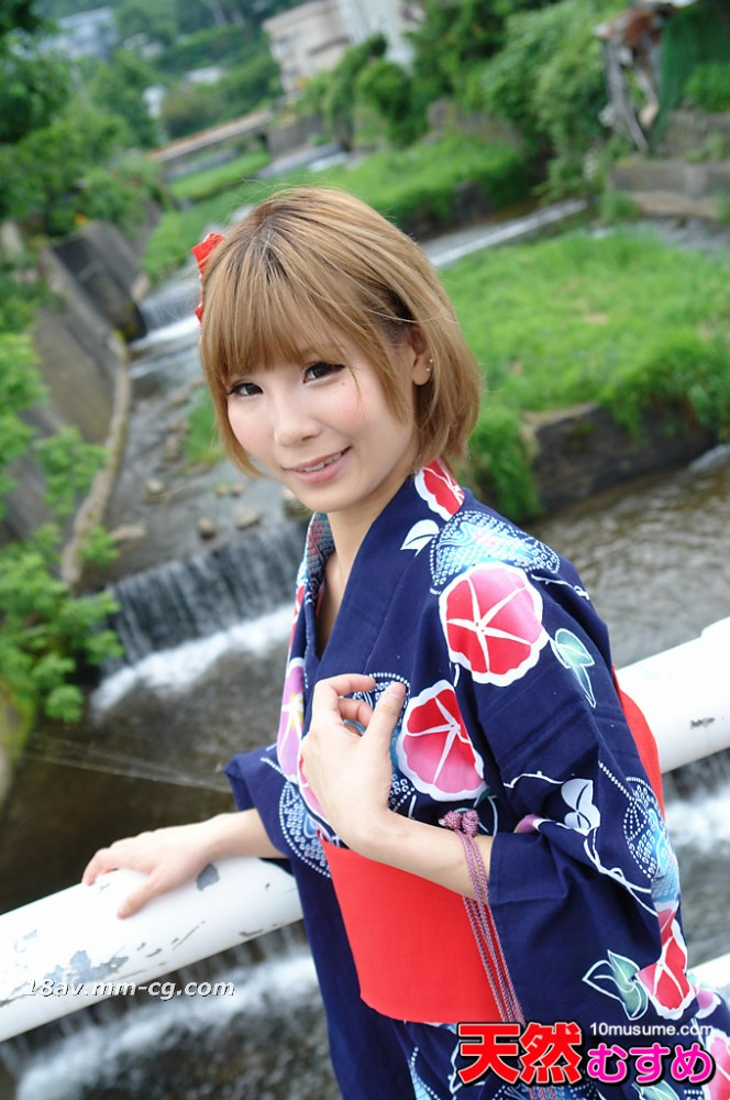 The latest natural amateur 101113_01 yukata figure, shaved type Endo step beauty