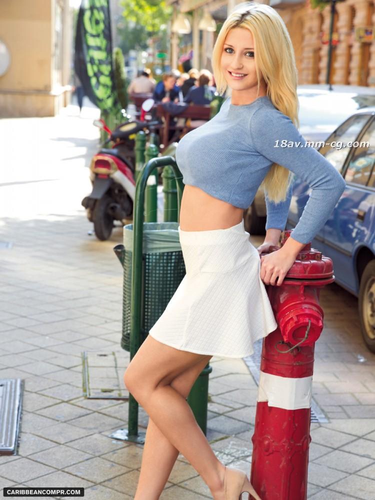 最新のカリブ海PPVアニメーション042915_190 F1 Blonde Racing Girl