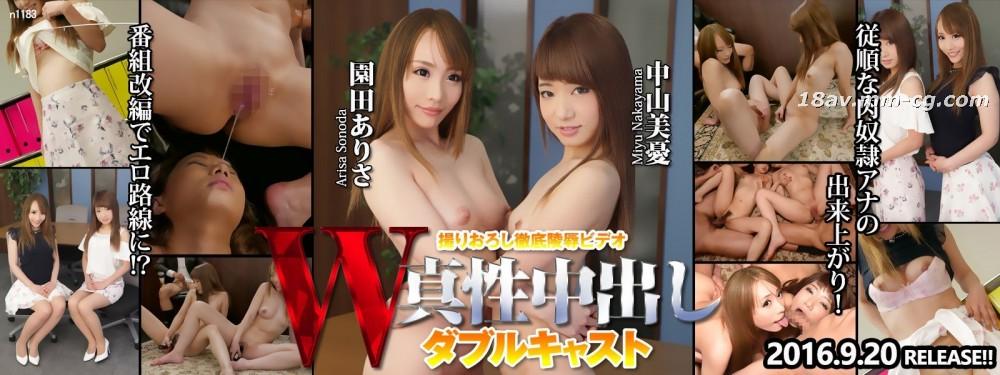 Tokyo Hot n1183 W fucking Nakayama Mikoto, Sonoda