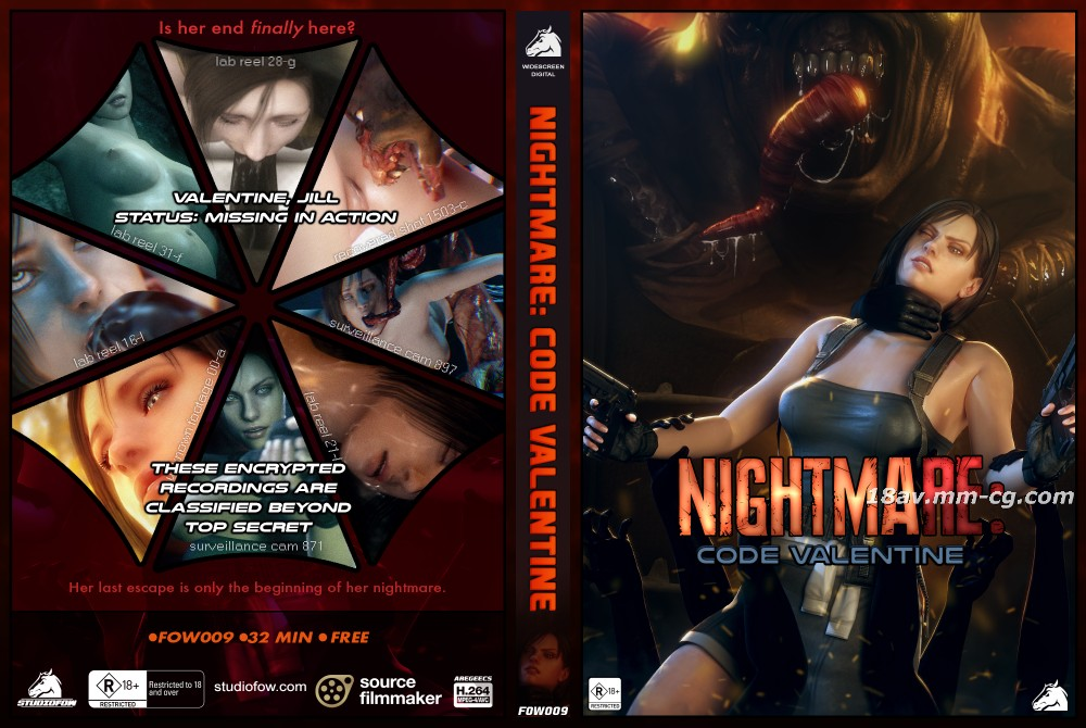 [3D]Nightmare Code Valentine OFFICIAL [Night Subtitle Group]