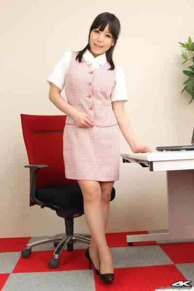 4K-STAR No.00044 Maria Akamine 赤峰マリア Office Lady