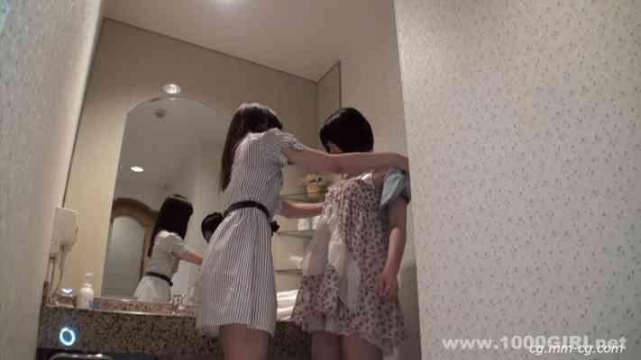 1000giri 2012-08-13 Mi & Yuko レズフェティシズム~ローションたっぷりロリ娘~ミィ &ユウコ