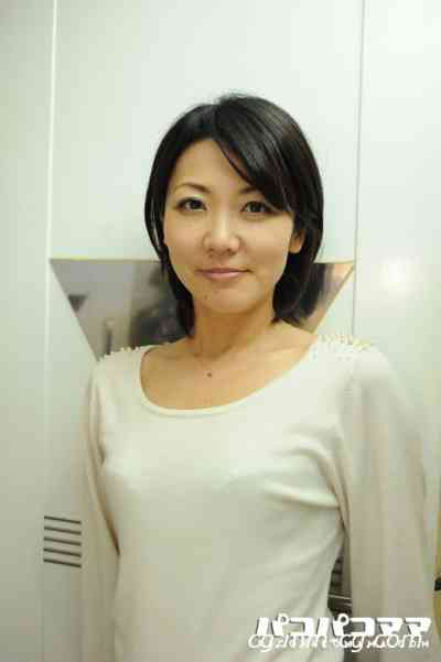 Pacopacomama 030212-595 スッピン熟女 ~女優.板谷.夏似の美魔女~島咲友美