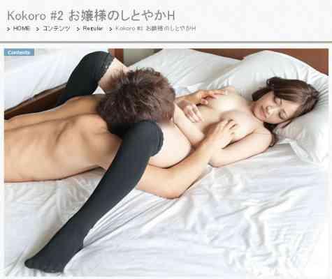 S-Cute 255 Kokoro #2 お嬢様のしとやかH