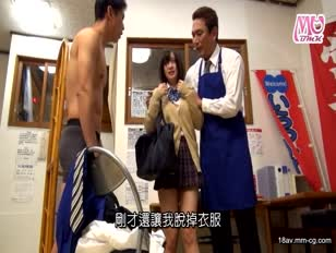 KIL-101-[中文]扒竊誤認逮捕結果跪在地上被中出做的JK們